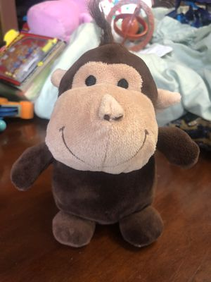 "Chelsea teddy bear company plush bean bag buddies monkey 6.5"" for Sale in Miami, FL"