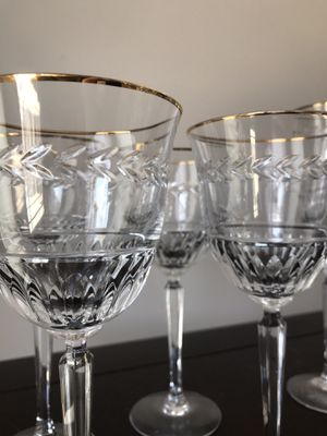 """""""Classic Laurel"""" Crystal Glassware Set by Lenox (1988-1995) for Sale in San Diego, CA"""