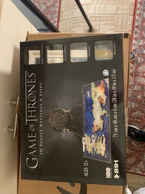 Game of Thrones 3D Puzzle for Sale in Phoenix, AZ