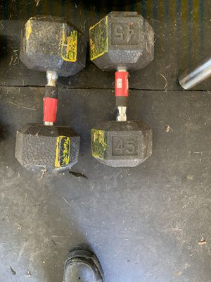 Dumbbells for sell for Sale in Hampton, VA