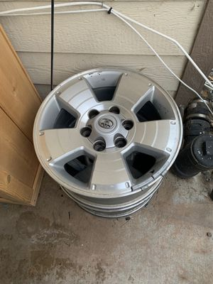 Toyota Tacoma rims 40 each for Sale in Chula Vista, CA
