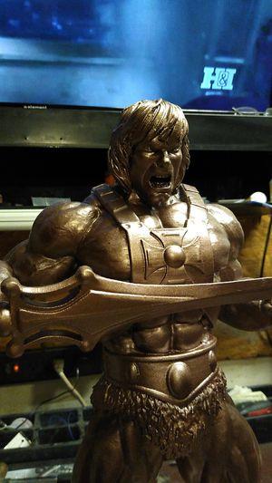 Custom prototype He-man statue , for Sale in Houston, TX