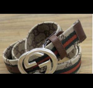 "BRAND NEW Gucci BELT GG Brown Black Green & Red Stripe 32-36"" for Sale in Mesa, AZ"