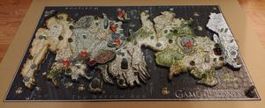 Game of Thrones Puzzle of Westeros 4D Cityscape for Sale in Chicago Ridge, IL