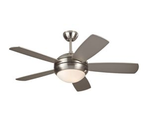 "42"" Casa Probe Brushed Nickel Ceiling Fan & Light Fixture - LIKE NEW! for Sale in Los Angeles, CA"