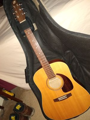 Seagull Acustic Guitar with Designer Bag for Sale in Spring, TX
