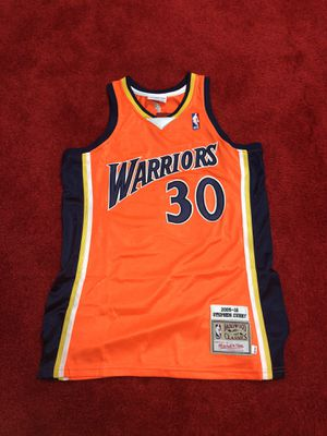 Steph curry warriors throwback jersey men's medium for Sale in Atlanta, GA