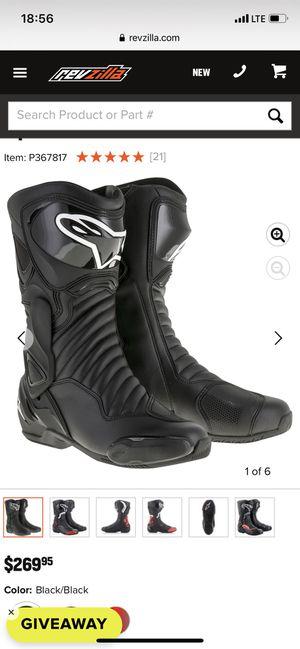 Alpinestar boots size 9 for Sale in Miami, FL