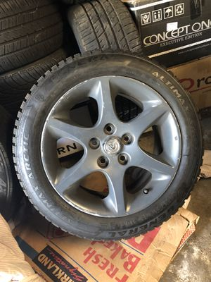 "16"" 5X114.3 wheels with 3 tires for Sale in City of Orange, NJ"