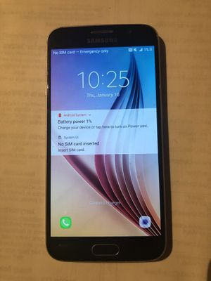 SAMSUNG GALAXY S6 CELL PHONE for Sale in West Valley City, UT