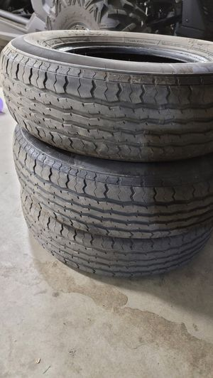 Three 205/75 r15 trailer tires for Sale in Perris, CA