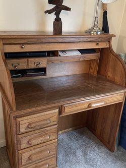 Oak Rolltop Desk for Sale in Seattle,  WA