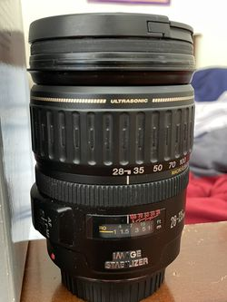 Canon Ultrasonic 28-135mm W/Image Stabilizer for Sale in Murrieta,  CA