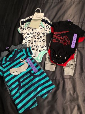 Baby boy 3 months new clothes ropa para Niño for Sale in Stafford, TX