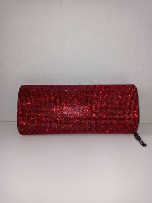 Red Rhinestone Clutch for Sale in Atlanta, GA