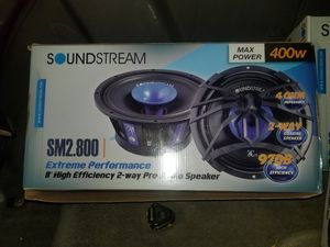 soundstream 8 inch pro audio speaker for Sale in Fort Worth, TX