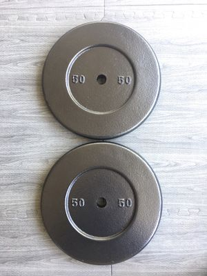 Weights Standard 2x50lb Plates for Sale in Riverside, CA