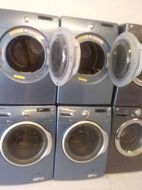 Samsung washer and dryer used good condition 90days warranty 600 set