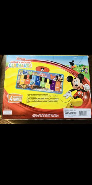 Mickey Music Mat for Sale in Raleigh, NC