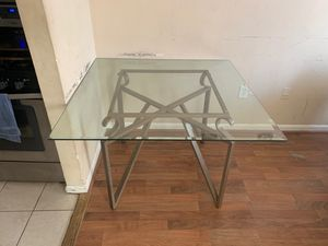 GLASS KITCHEN TABLE for Sale in Glen Burnie, MD