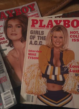 Playboy magazines and others penthouse all for $40 at least 20 magazines for Sale in Fontana, CA
