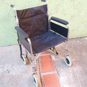 Wide Transport Extra Lite Wheel Chair for Sale in Norwalk, CA