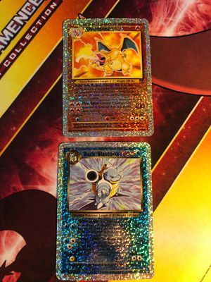 Charizard S1/S4 Dark Blastoise S2/S4 Legendary Collection Box Toppers Holo Holo Foil Holographic Pokemon Cards TCG Card Jumbo Card for Sale in Placentia, CA