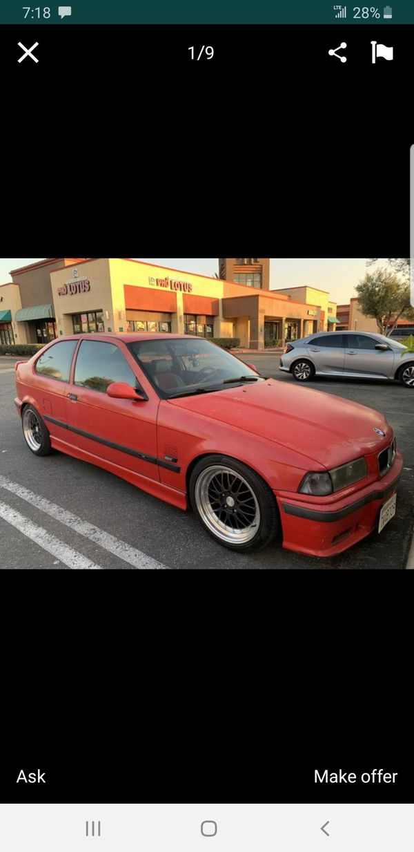 1995 BMW 318ti 5 speed manual clean title ac tags up to date ft gsxr fz sportster harley lexus