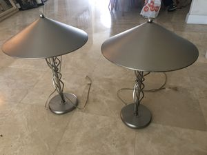 Pair of Lamps for Sale in Hollywood, FL