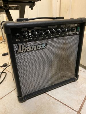 Ibanez Electric Guitar Amp Amplifier Speaker Powerful Cabinet for Sale in Manchester, CT