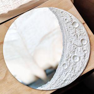 """13"""" Moon mirror decor for Sale in Decatur, GA"""