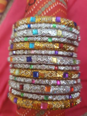 Bollywood style bangles set/bracelets for Sale in Peoria, IL