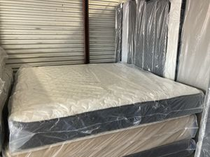 New king orthopedic medium feel mattress and box spring. Pick up special for Sale in Winter Park, FL