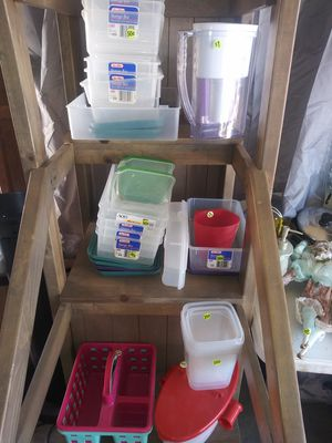 Tupperware & storage containers! for Sale in Mesa, AZ