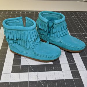 Double Fringe Zip Boots 9T for Sale in Cary, NC