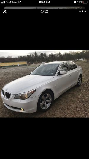 2006 bmw 525i All Power, Bluetooth, Heated Seats, Sunroof, Steering Wheel Controls, Cruise, Clean Title just put a used transmission run and drives g for Sale in Columbus, NC