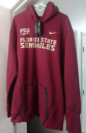Men's / Authentic Nike / FSU / Florida State University / Seminoles / On Field / Therma / Dri-Fit / Maroon Hoodie for Sale in Chula Vista, CA