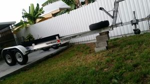 19-25ft Everything marine extreme trailer double axle aluminum boat trailer trailer de aluminio para bote for Sale in Hialeah, FL