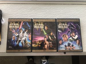Star Wars Original Trilogy Episodes 4 5 6 Limited Edition Original Cut DVDs for Sale in Madera, CA