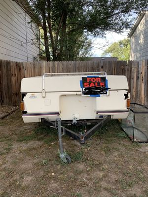 1989 Coleman pop up camper for Sale in Fountain, CO