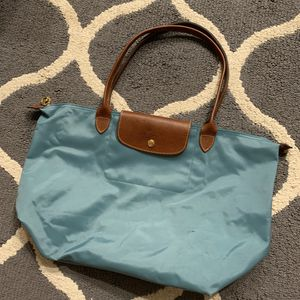 Longchamp Large tote bag purse teal for Sale in San Jose, CA