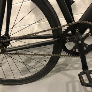Black Fixie Bike w Kryptonite ulock Pump Venmo Cash Only for Sale in Arlington, VA