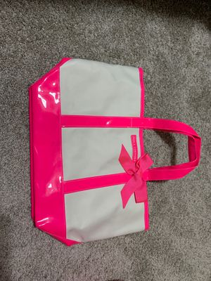 Large neon pink pink juicy couture tote 15 obo for Sale in Puyallup, WA