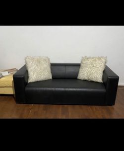 Black Ikea Sofa for Sale in St. Louis,  MO