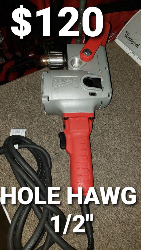 """Milwaukee hole hawg 1/2"""""""
