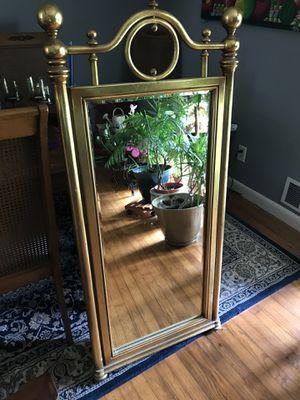 Golden vintage mirror for Sale in Atlanta, GA