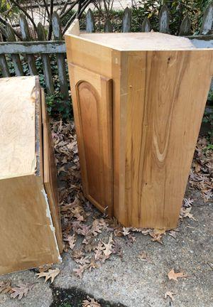 Free hard wood cabinets for Sale in Virginia Beach, VA
