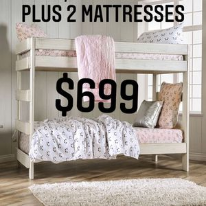 Bunk beds With Mattresses for Sale in Fresno, CA