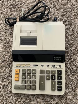 CANON P1011-D II 10 Digit Printing Calculator - Tested / Works Great ! for Sale in Columbus,  OH