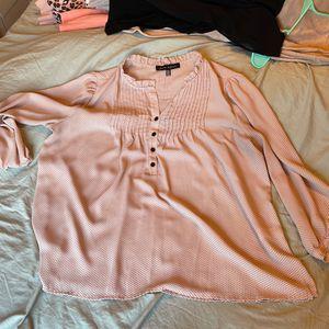 Women's Polka dot Pink Blouse for Sale in Aberdeen, WA
